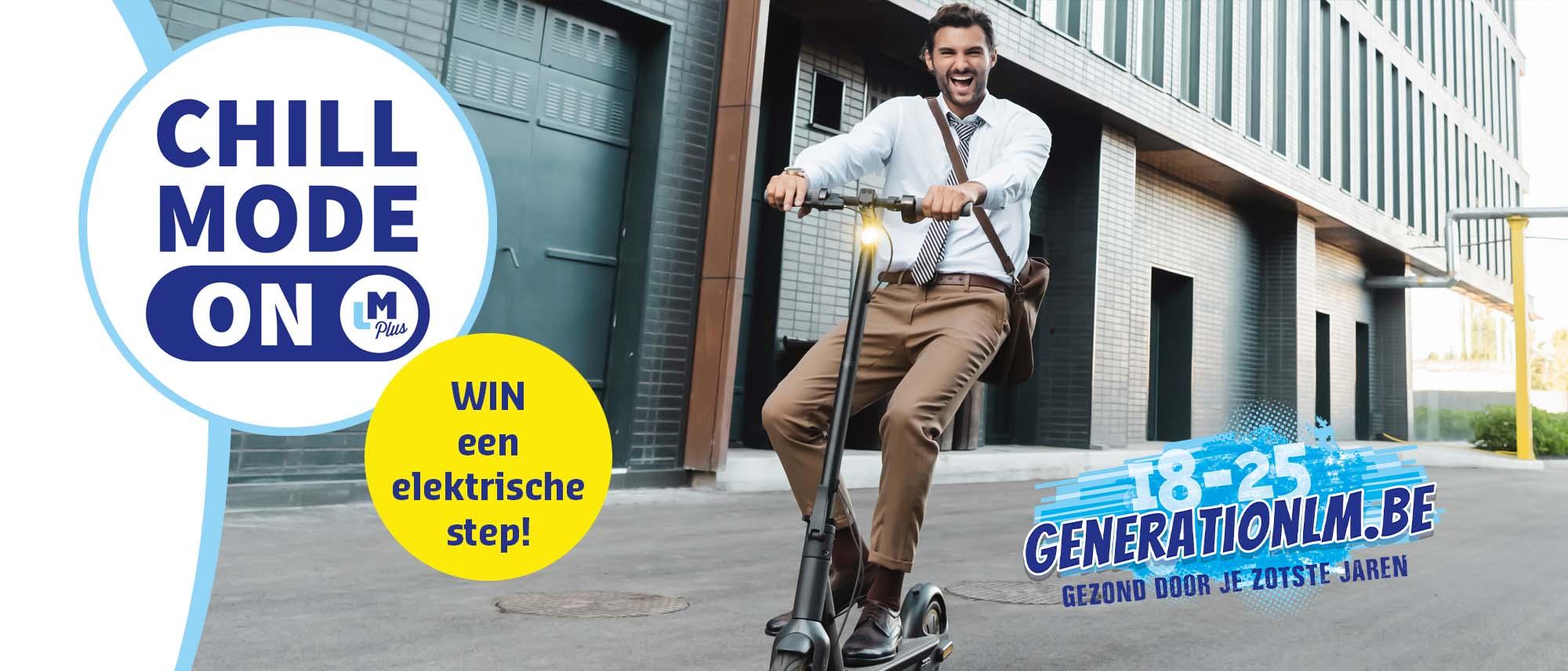 Generation LM Win een elektrische step